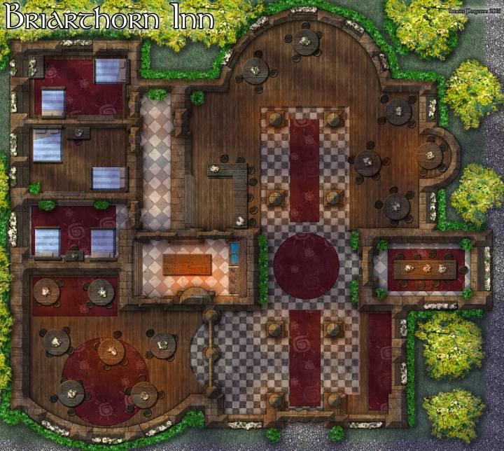 Briarthorn-Inn-Map
