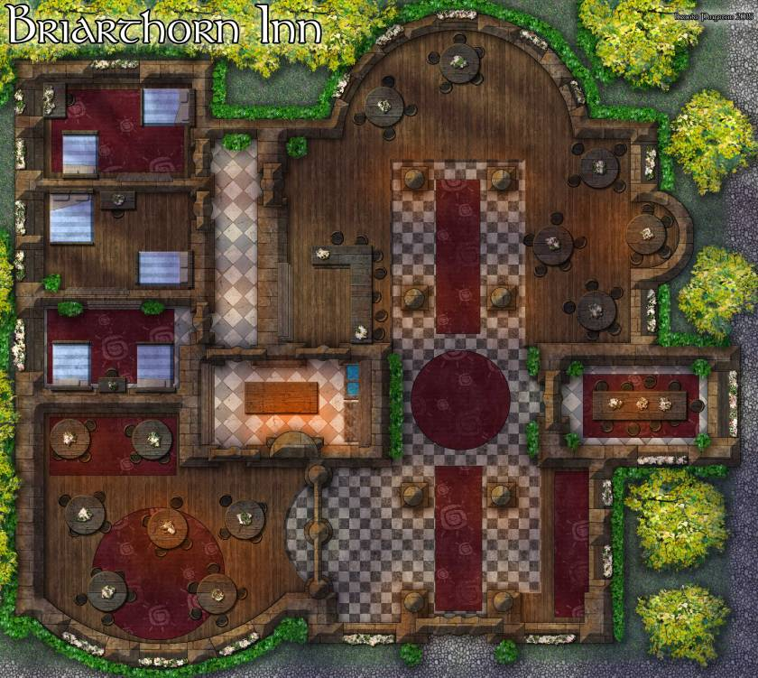 Briarthorn-Inn-Map