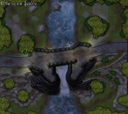 Chester Falls: Night