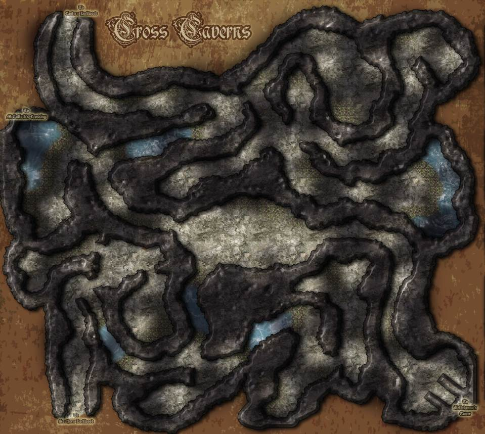 Cross-Caverns