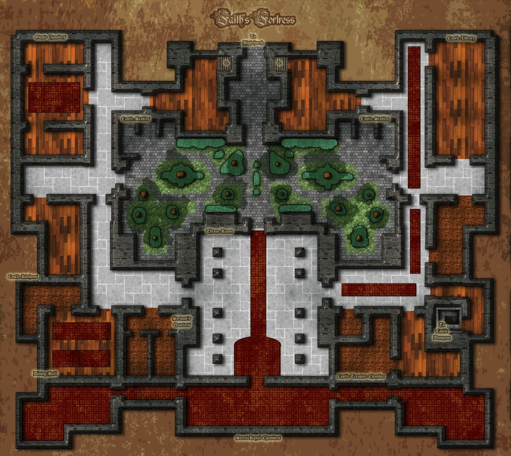 Faith's Fortress: Highchurch's Castle
