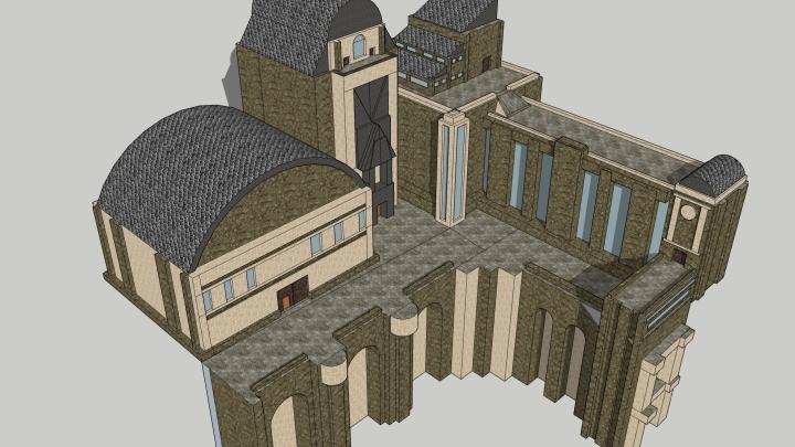 Grandmill Docks model