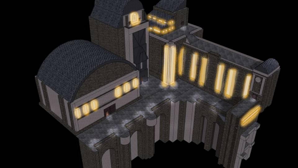 Grandmill-Docks-model