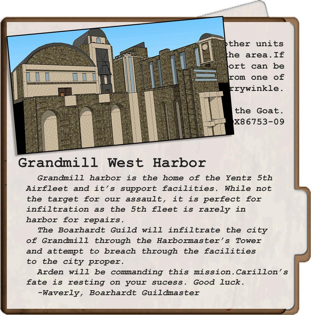 Grandmill-Infiltration-Dossier