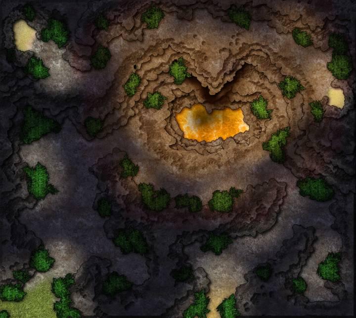 Island-Volcano-Cave