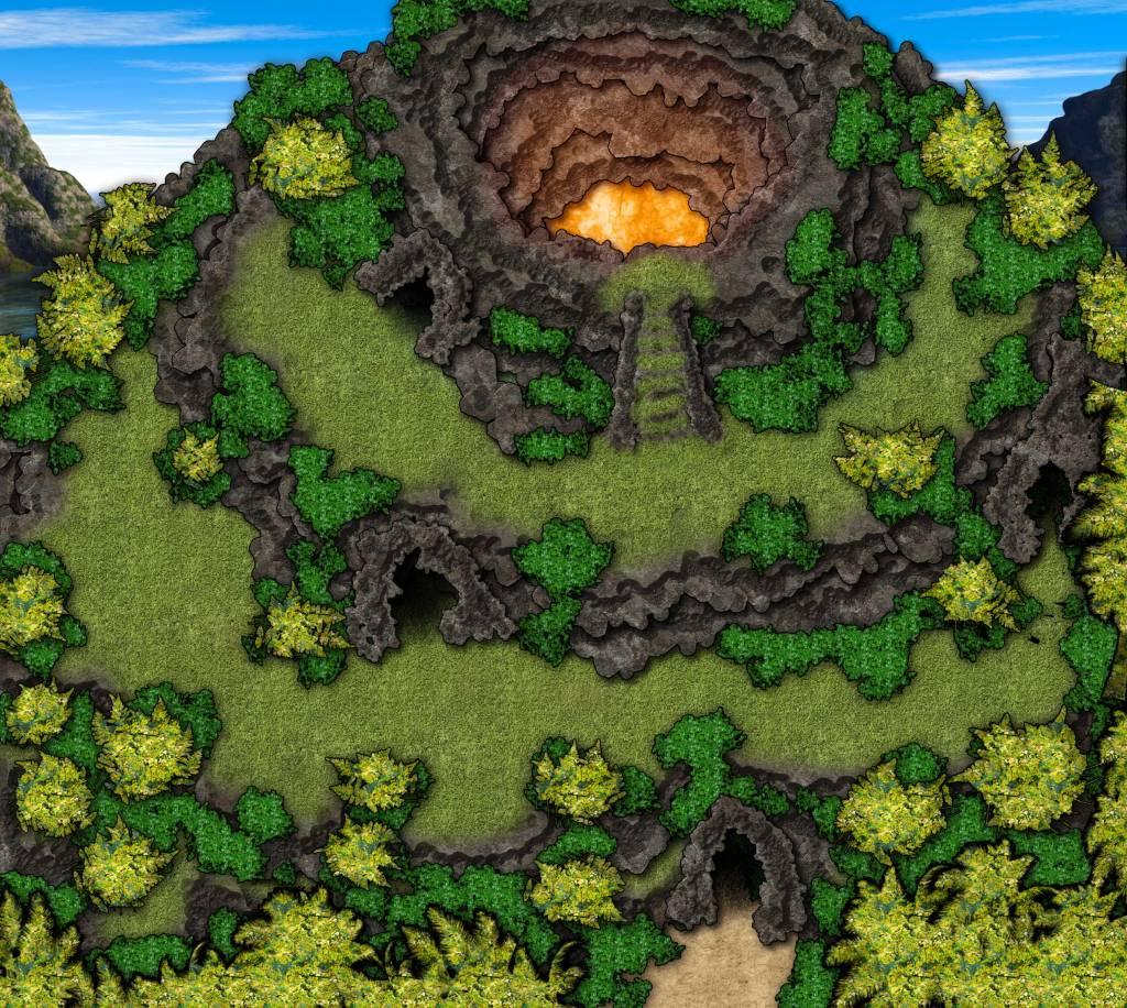 Island-Volcano