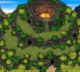 Sabu Island Volcano