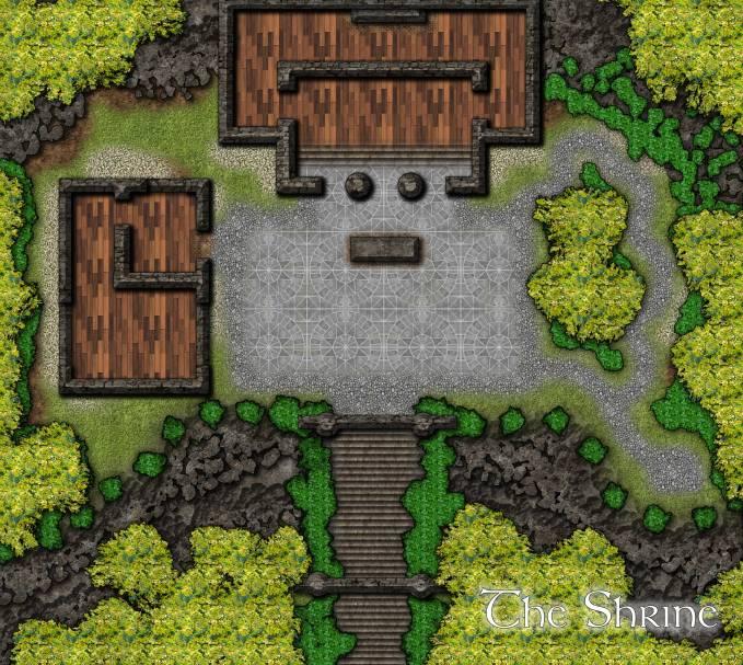 Borpheous's Shrine: Day