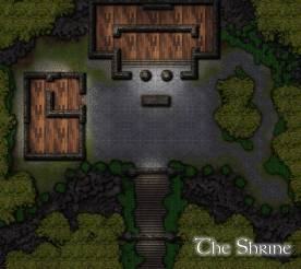 Borpheous's Shrine: Night