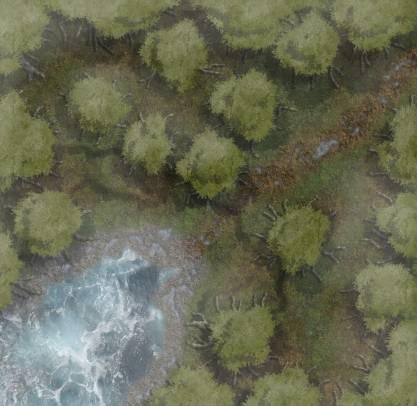 Fallowen Forest Pond
