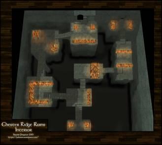 Chester Ridge Ruins: Interior