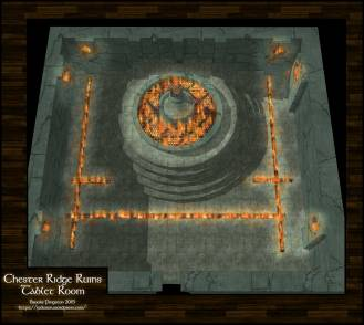 Chester Ridge Ruins: Tablet Chamber