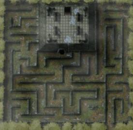Chester Ridge Ruins: Exterior
