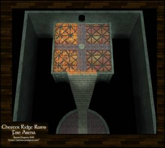 Chester Ridge Ruins: Fire Arena 7