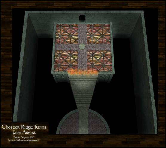 Chester Ridge Ruins: Fire Arena 10