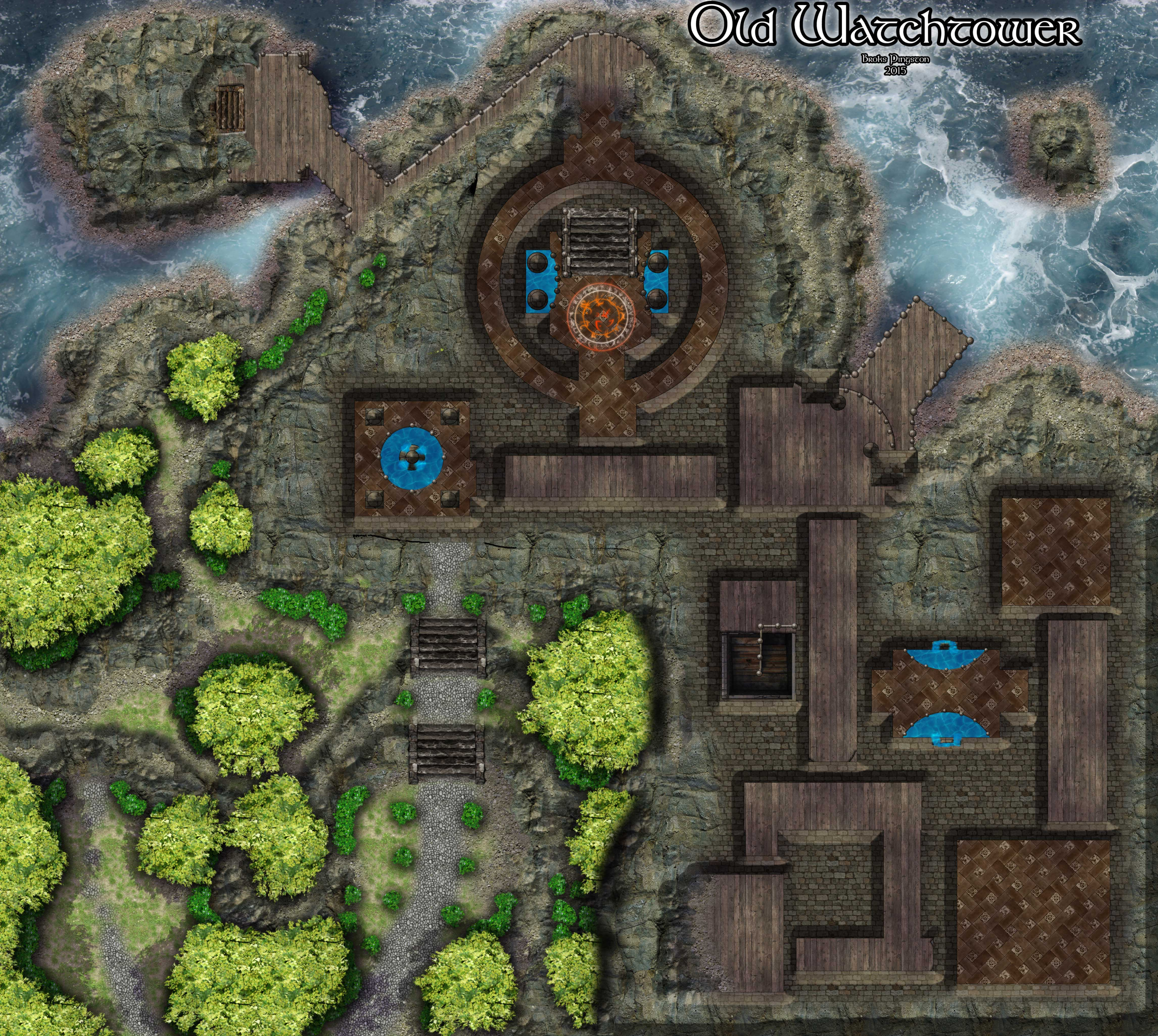 Encounter Map – The ...