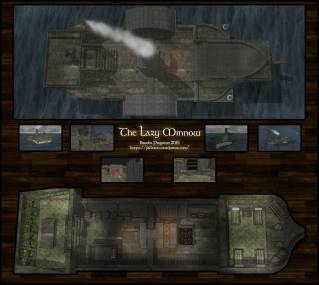 The Lazy Minnow: Raining