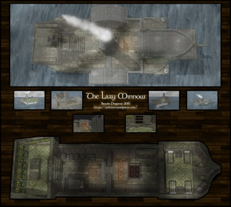 The Lazy Minnow: Snowing