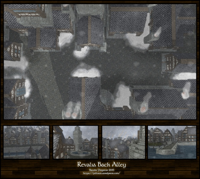 Revalia Back Alley: Day
