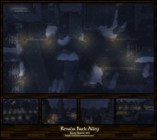 Revalia Back Alley: Night
