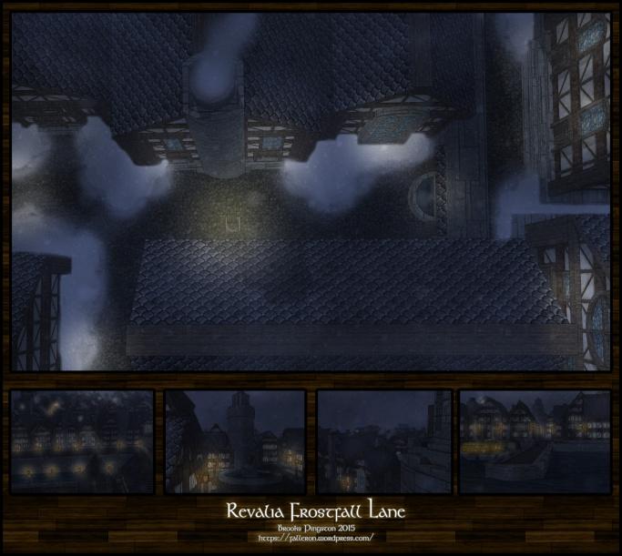 Revalia: Frostfall Lane Night
