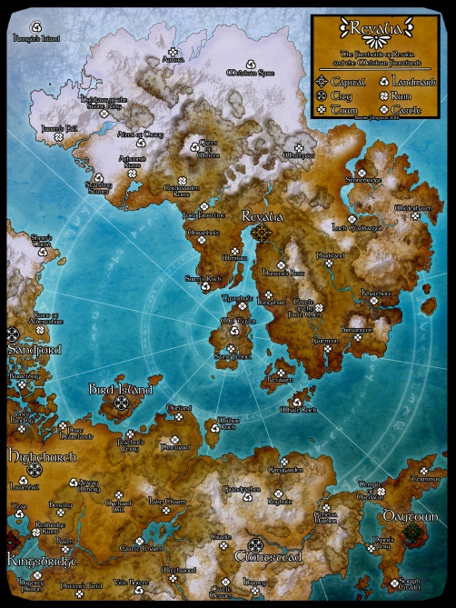 Revalia and the North: 2016