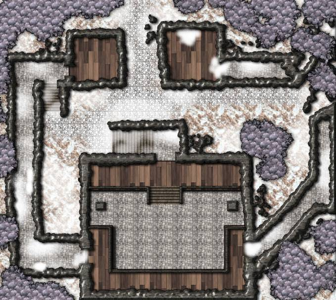 Ruined Fort in the Tuskwold