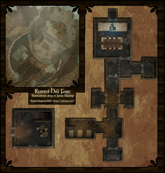 Barrelbog: Hill Fort