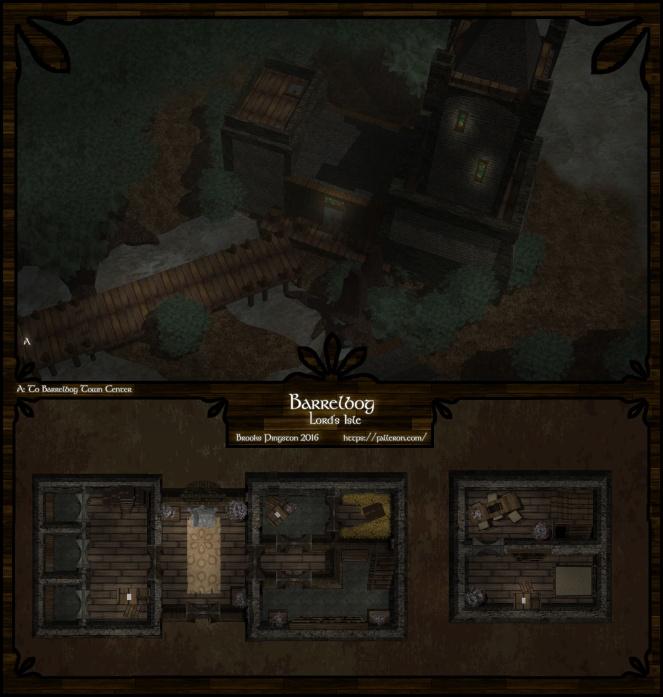 Barrelbog: Lord's Isle Night