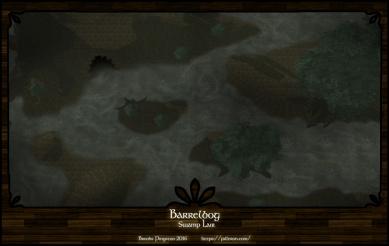 Barrelbog Swamp Night