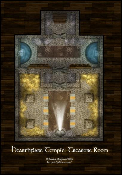 Hearthflare: Treasure Room