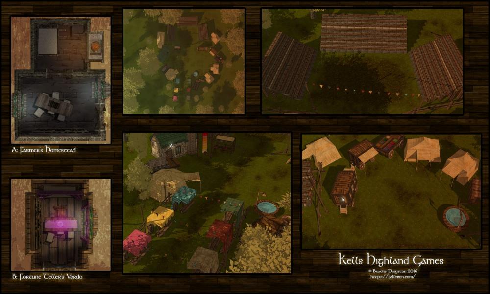 kells-highland-games-sunset