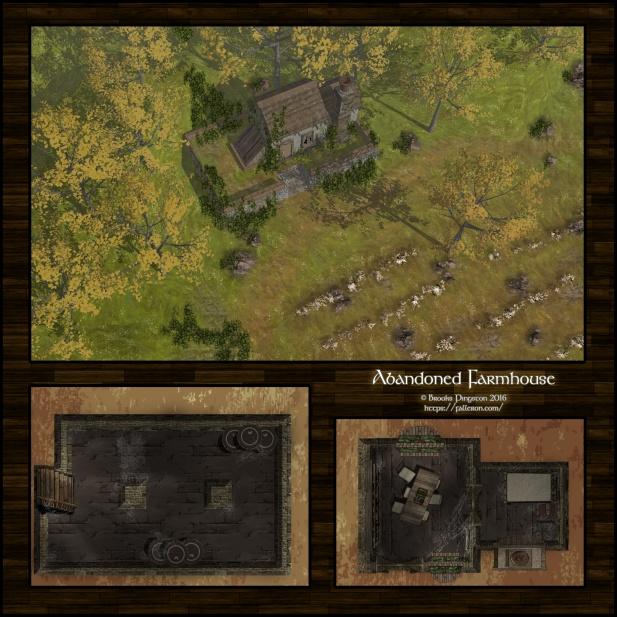 Abandoned Farmhouse: Day