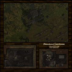 Abandoned Farmhouse: Rain