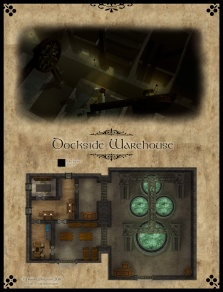 Dockside Warehouse - Night