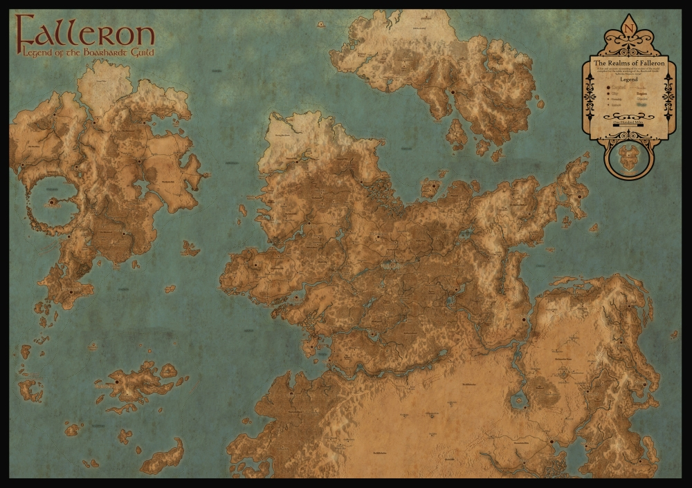 Falleron Worldmap 2017