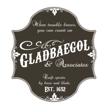 Original Gladbaegol and Associates Logo