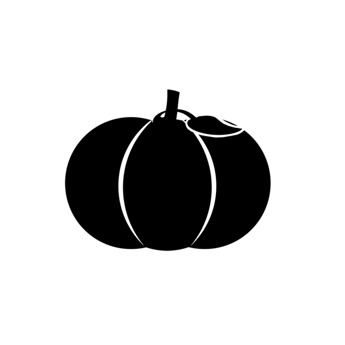 Samhain's symbol is a great pumpkin, reflecting his nature of plenty.