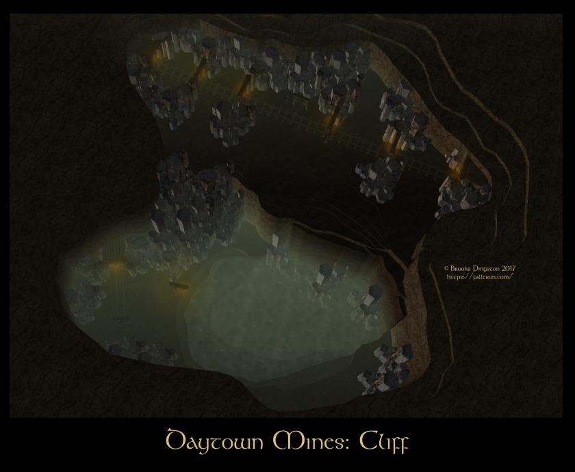 Daytown Mines Cliff