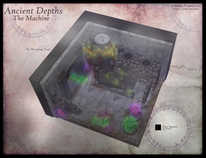 Ancient Depths Machine