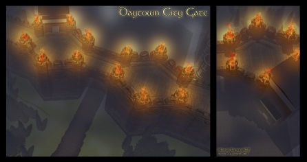 Daytown Gate Night