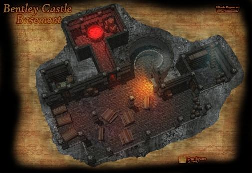 Bentley Castle Basement