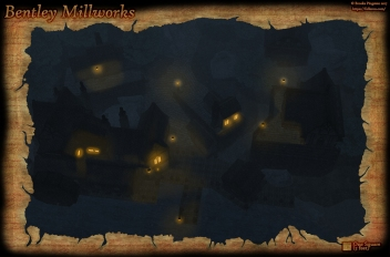 Bentley Mill Night Rain