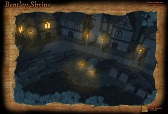 Bentley Shrine Night