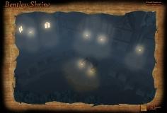 Bentley Shrine Night Fog