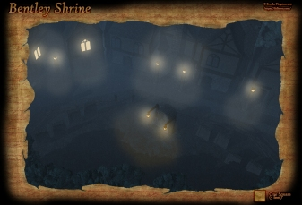 Bentley Shrine Night Rain
