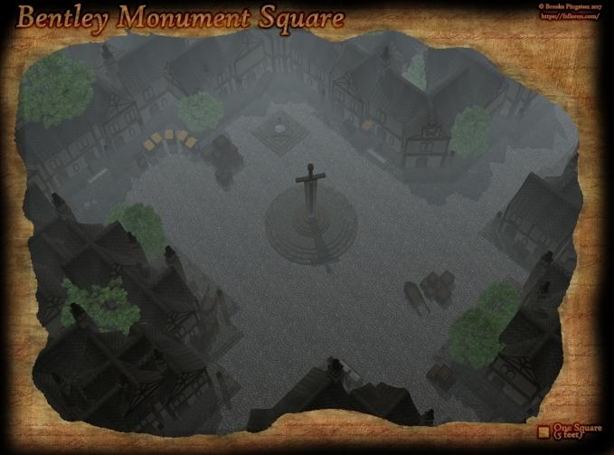 Bentley Square Day Fog