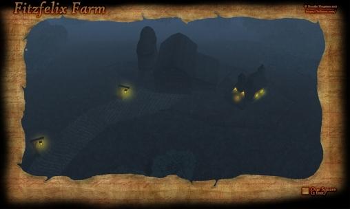 Fitzfelix Farm Night Fog