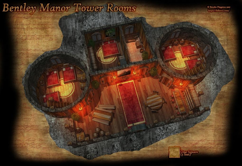 Bentley Manor Tower Rooms