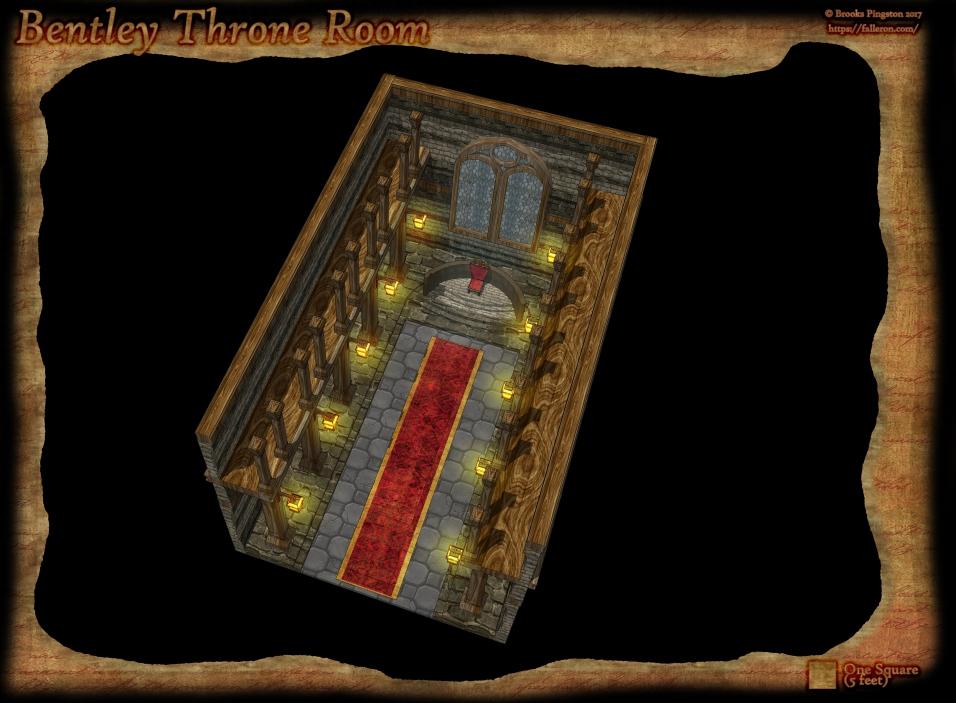 Bentley Manor Throne Room